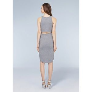 Aritzia mid stretchy dress with open back